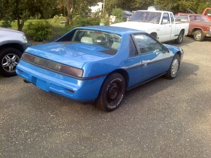 1987 Fiero the day I brought it home